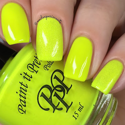 Paint it pretty polish cascade swatch tetris neons
