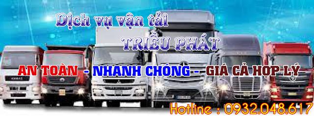 Dịch vụ vận tải Triều Phát