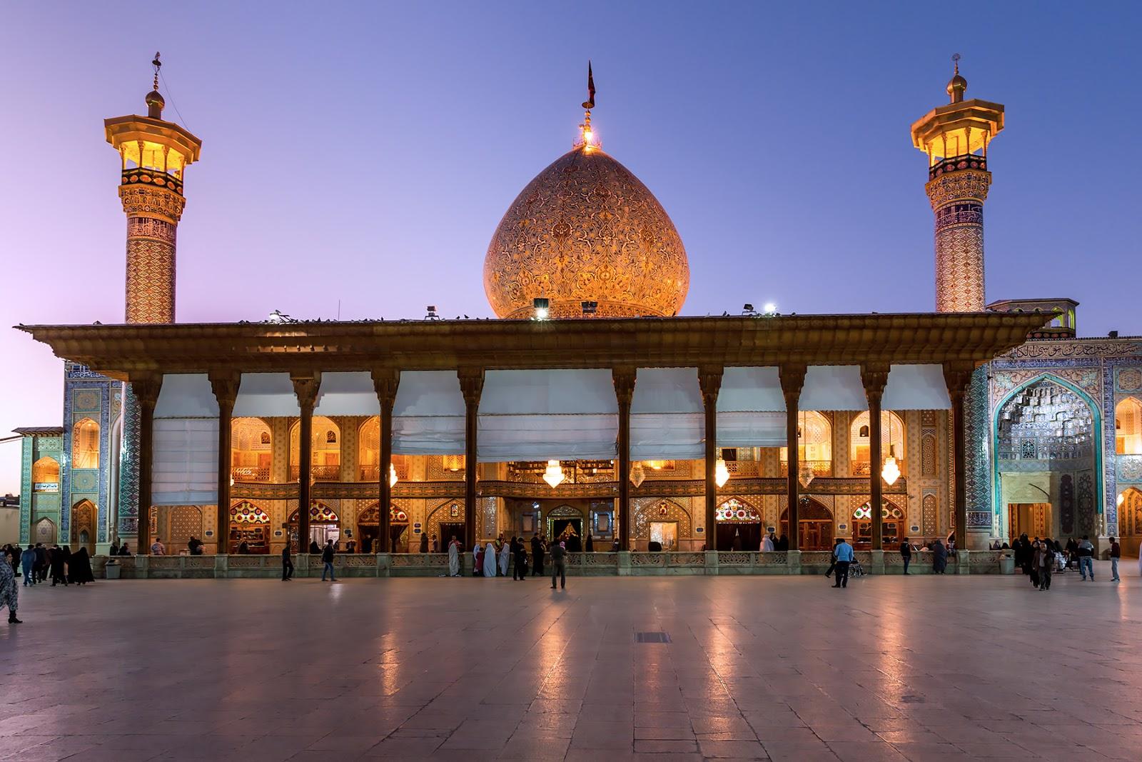 Iran-Shiraz-Sanktuarium Shah Cheragh