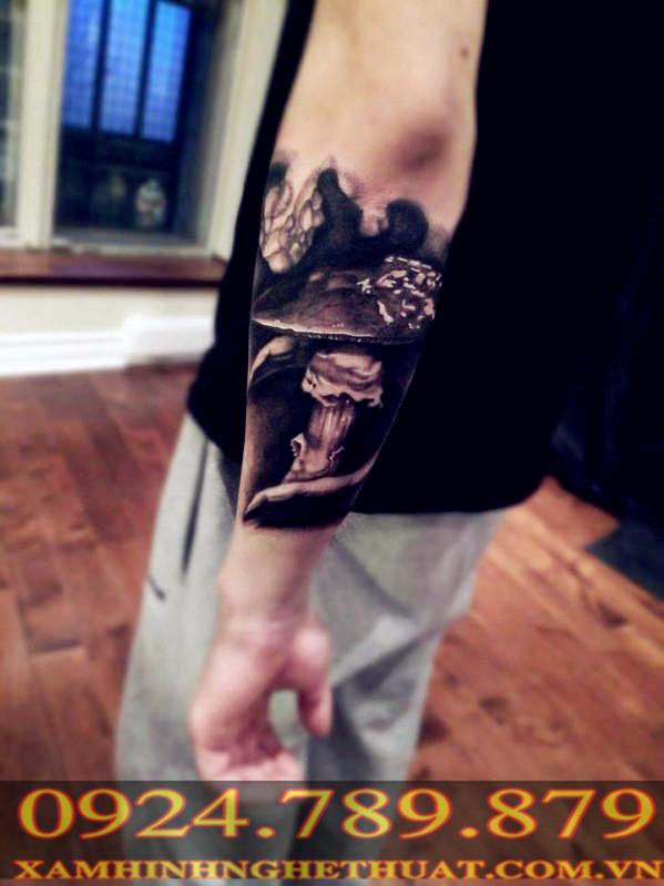 Hình Xăm đẹp ở bắp tay phần 1