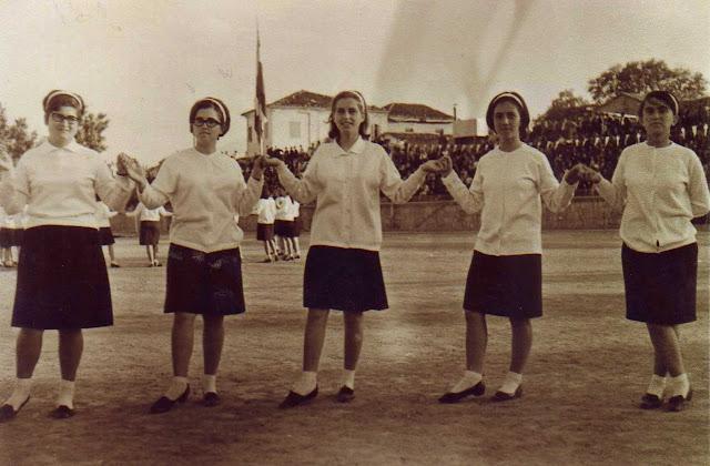 Γυμναστικές επιδείξεις στο γήπεδο Εδεσσας το 1968