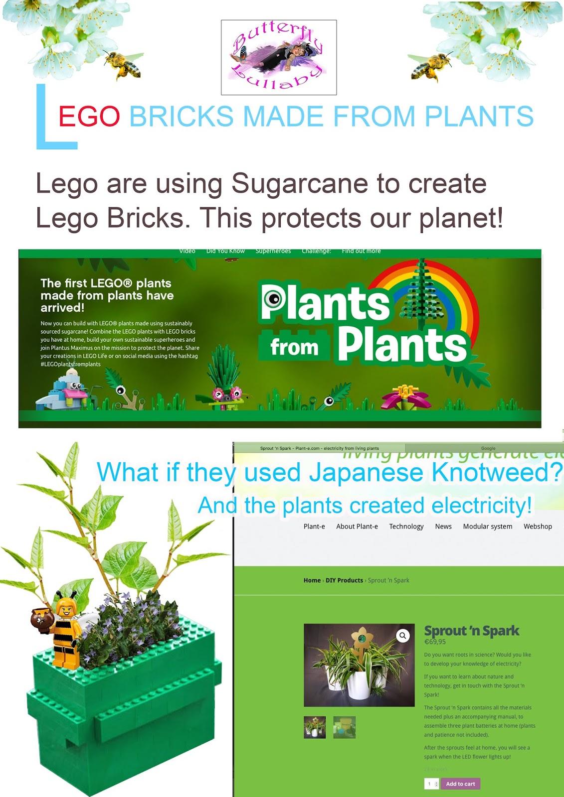 Butterfly Lullaby - Sharon J  Bainbridge: LEGO BRICKS MADE