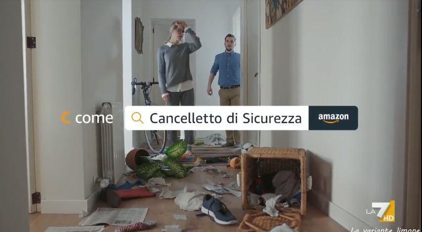 Canzone Amazon Pubblicità Cancelletto di sicurezza, Spot Giugno 2018