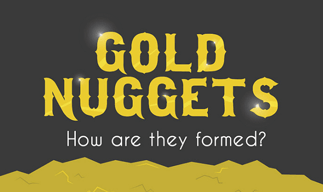 Image: Gold Nuggets: How Are They Formed?
