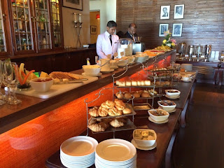 Breakfast Buffet at Galle Face Hotel in Colombo