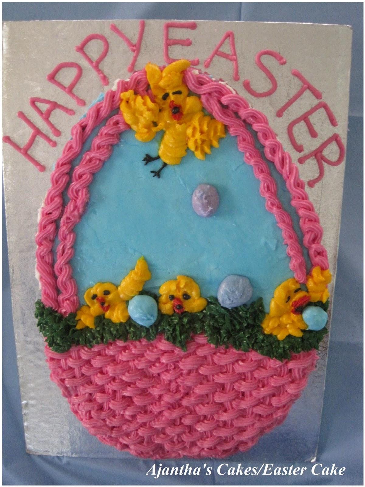 Ajantha Cakes/Easter Cake