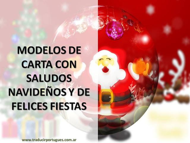 carta de salutación, navidad, felices fiestas, año nuevo, portugués