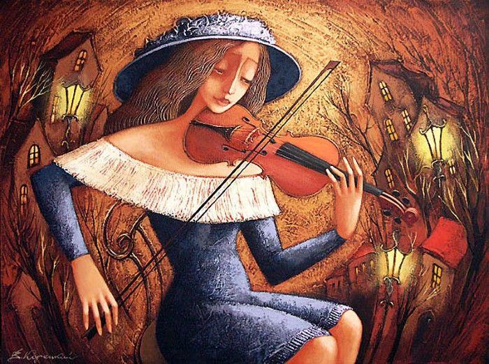 Украинский художник. Viacheslav Koretskiy 5