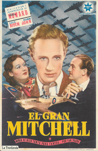 El Gran Mitchell - Folleto de cine - David Niven - Leslie Howard