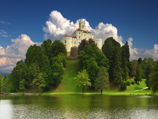 Trakošćan Castle and Varaždin