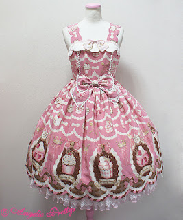 mintyfrills, kawaii, cute, sweet lolita, fashion, dress, klänning, brand,