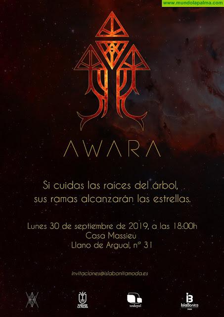 Andrés Acosta presentará su nueva colección - ΛWΛRΛ - en la casa Massieu de Los Llanos de Aridane el próximo 30 de septiembre