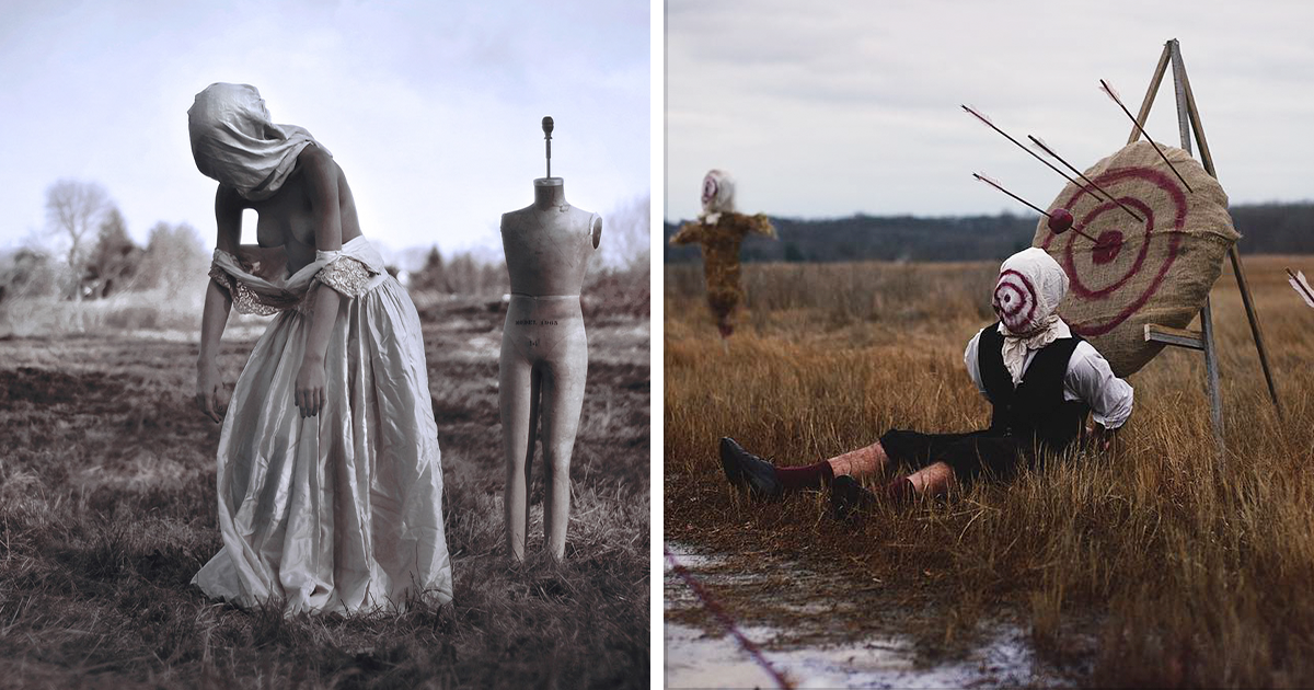 22-Year-Old Man With Sleep Paralysis Recreates His Nightmares In Photos, And It's Terrifying