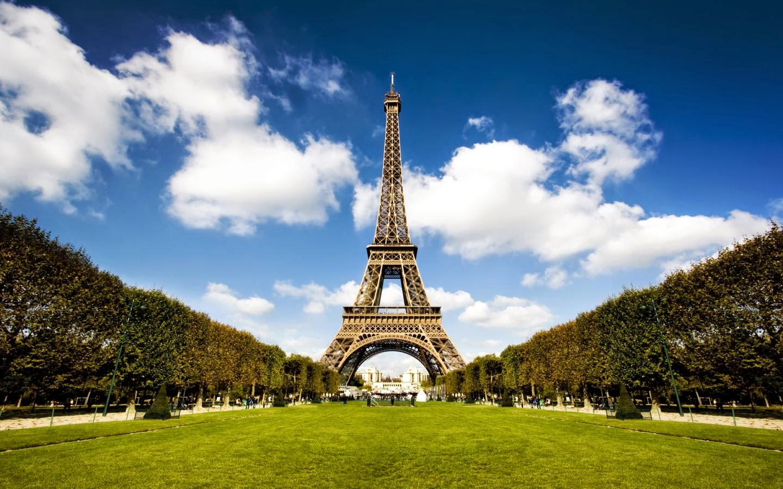 Foto Pemandangan Indah Menara Eiffel Prancis  Foto Gambar