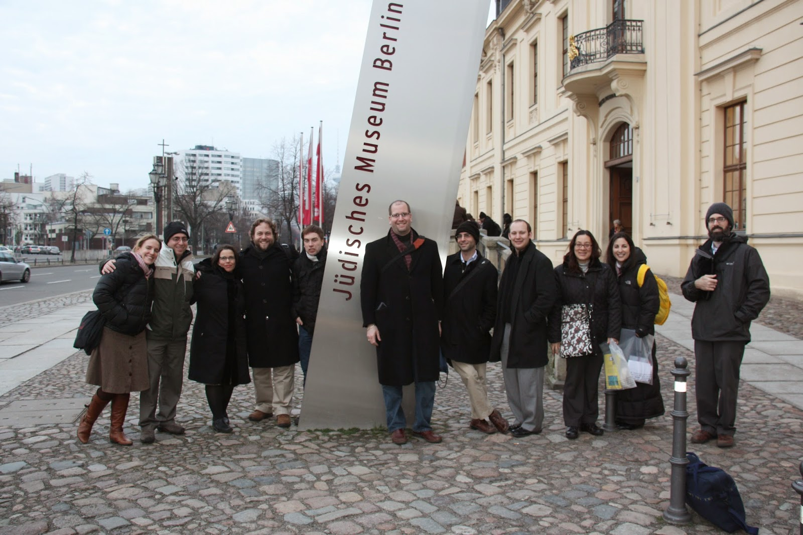 Masorti / Conservative rabbis in front of the Jewish Museum in Berlin (2011)