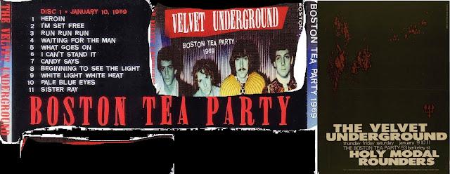 the VELVET UNDERGROUND boston tea party