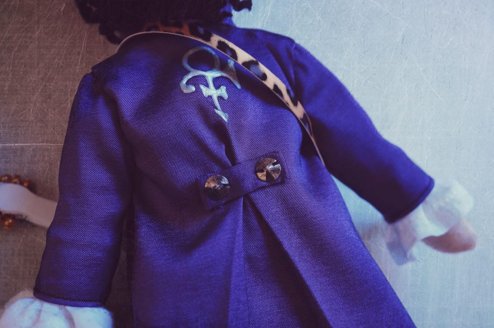Lelleco Blog: muñeco de Prince, detalle