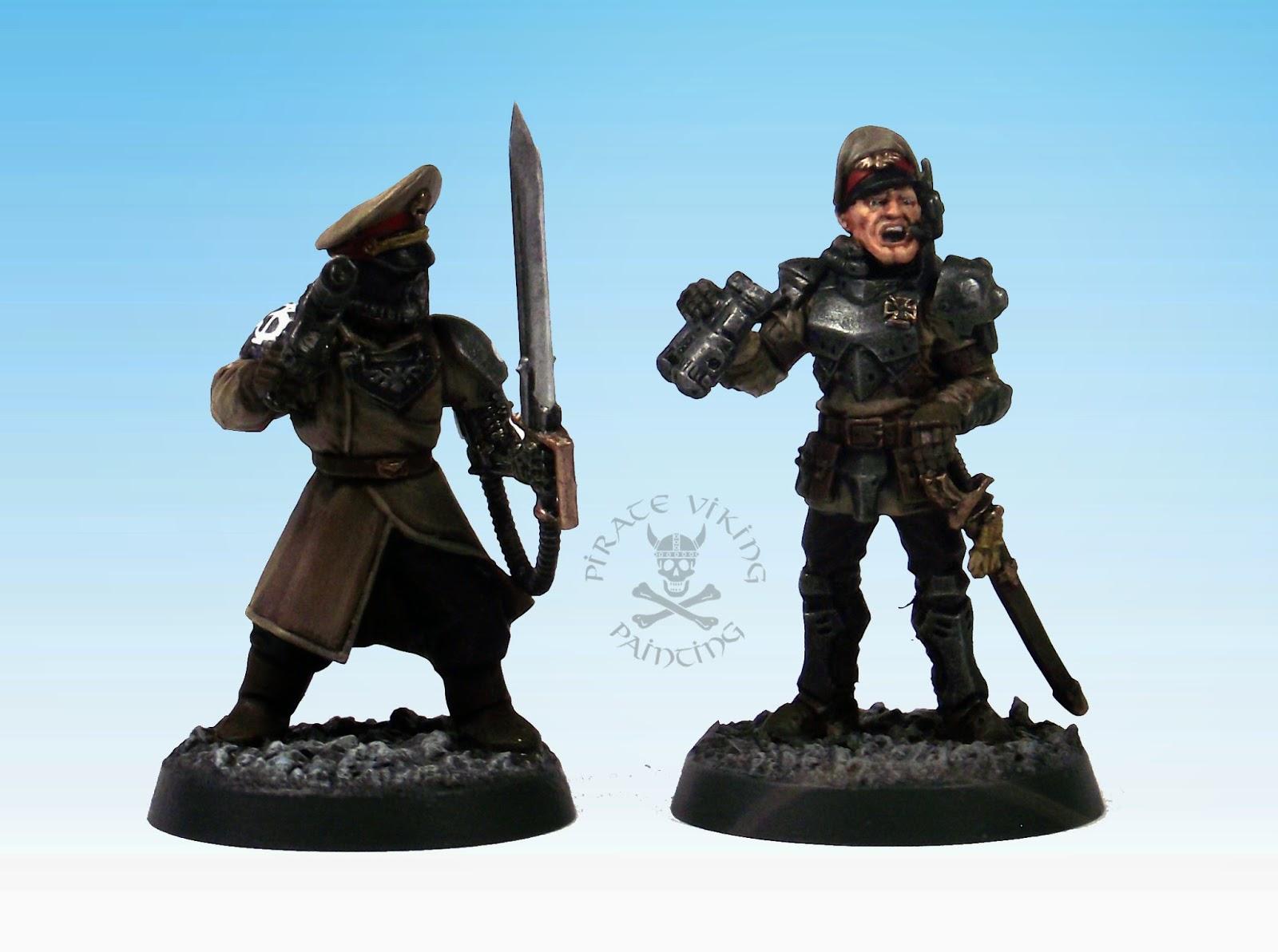Pirate Viking Painting: Steel Legion Officers (Rust ...