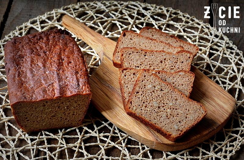 chleb zytni 100% na zakwasie
