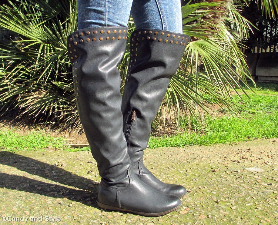 Over The Knee Boots - Details