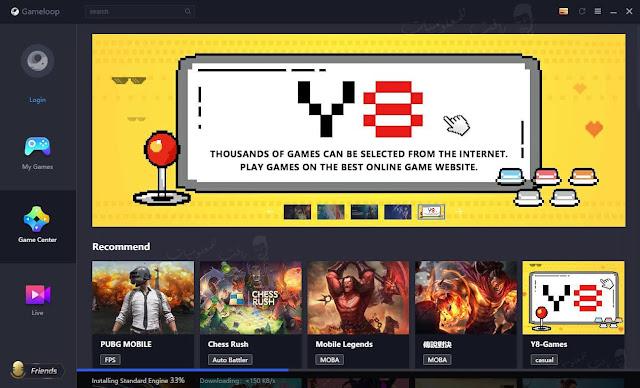 تحميل اسرع محاكي اندرويد للكمبيوتر Gameloop منافس Tencent gaming buddy