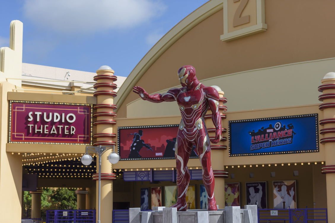 Disneyland Paris - Marvel Saison der Superhelden 2019 - Iron Man