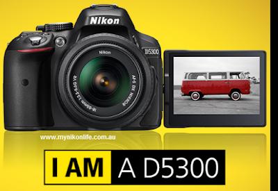 Harga dan Spesifikasi Kamera Nikon D5300 Terbaru