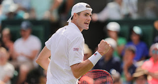John Isner Wimbledon Fourth round press conference