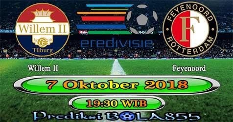 Prediksi Bola855 Willem II vs Feyenoord 7 Oktober 2018