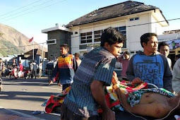 Lebih dari 200 Gempa Susulan Melanda Lombok Nusa Tenggara Barat