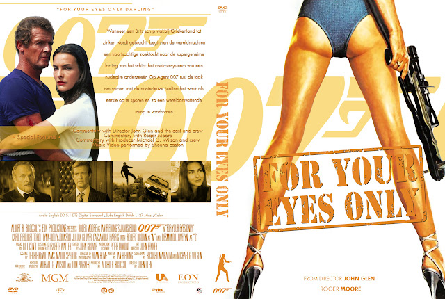 Capa DVD 007 For Your Eyes Only