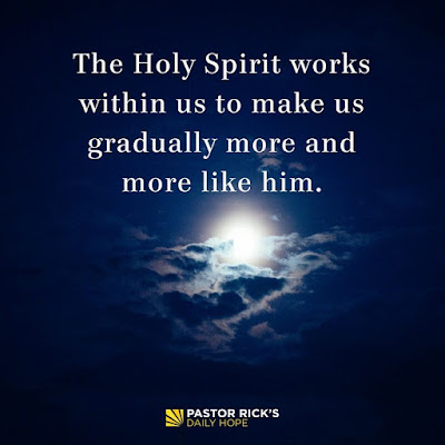 Change Requires the Holy Spirit by Rick Warren