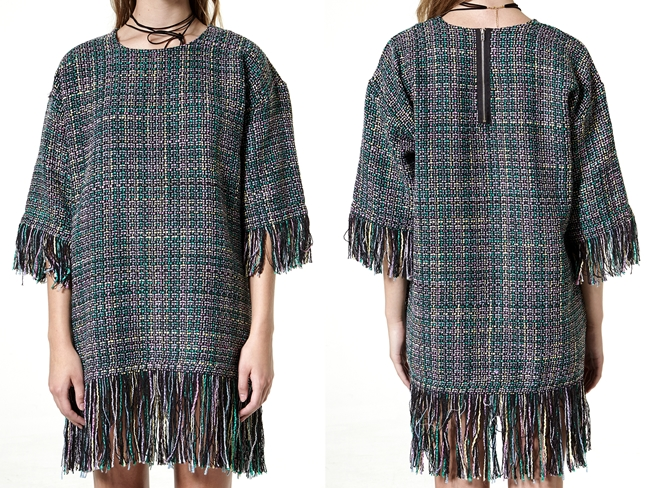 cf. Vogos 2015 AW Tweed Gigi Dress