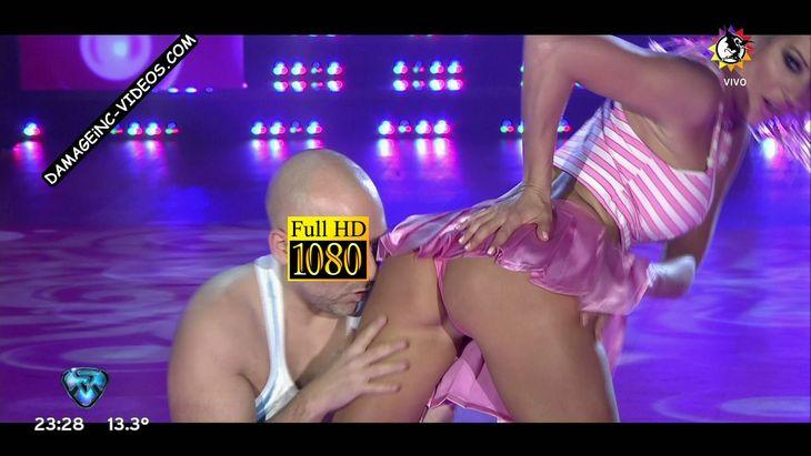 Noelia Marzol hot booty in pink thong Damageinc Videos HD