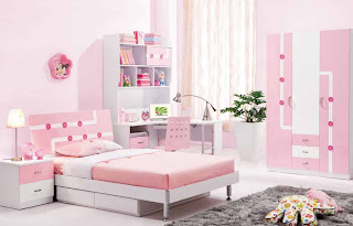 GAMBAR KAMAR TIDUR ANAK MINIMALIS Desain Kamar Tidur Anak Pink