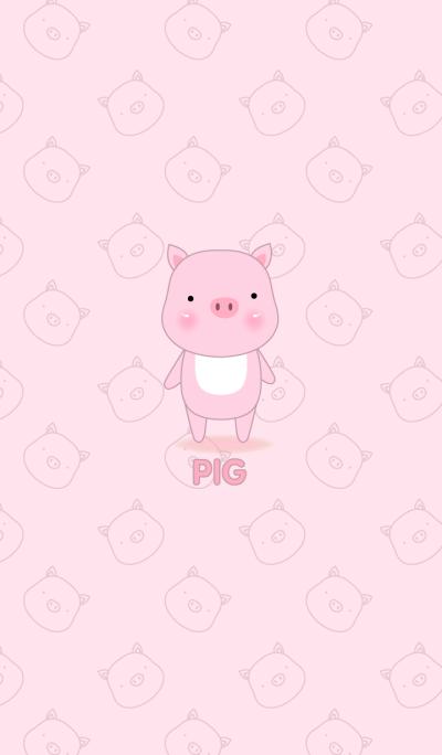 Simple cute Pig theme v.1