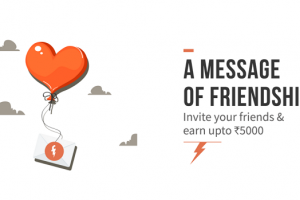 Earn upto Rs. 5000 by Freecharge Refer and Earn Campaign
