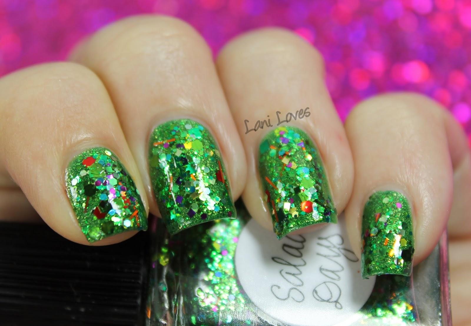 Lynnderella Salad Days nail polish swatch