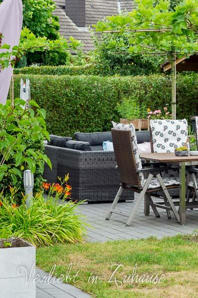 Lieblingsecke Outdoor : Terrassenbedachung mit Platanen
