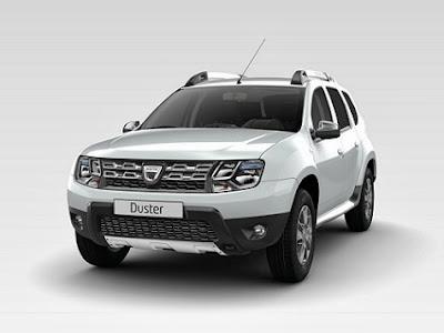 Nuevo Dacia Duster blanco glaciar