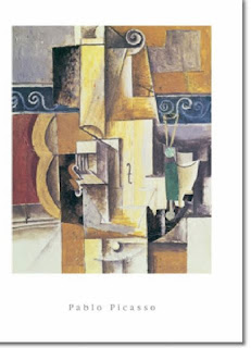 Violon et Guitare - poster - Pablo Picasso