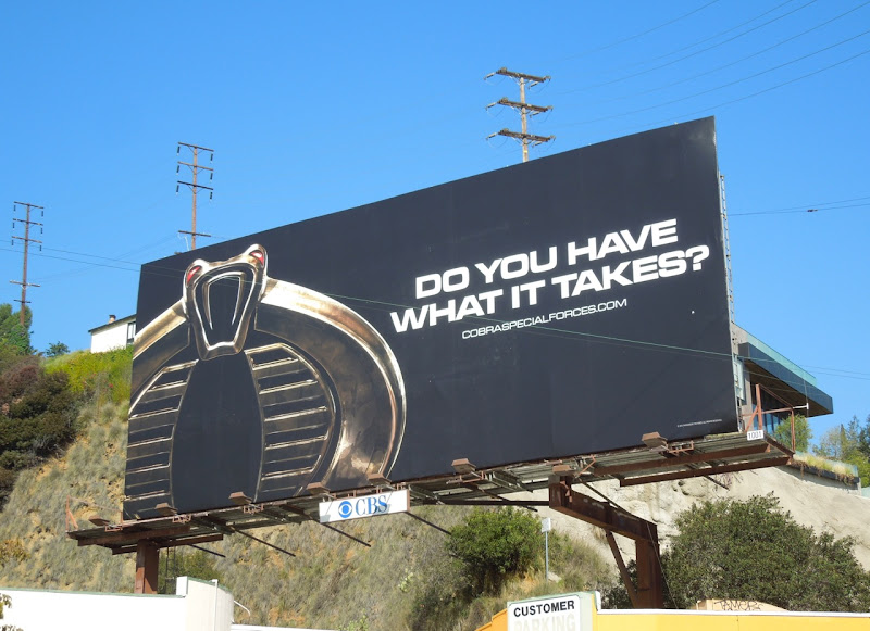 GI Joe Retaliation cobra teaser billboard