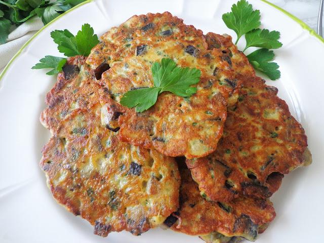 Placuszki z bakłażanem (Frittelle di melanzane)