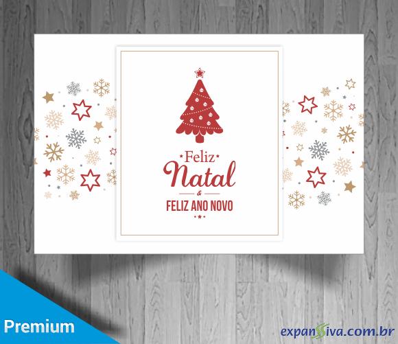cartão de natal personalizado para empresas