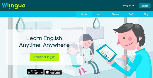 Aplicativos e sites para aprender Inglês de graça e  sozinho