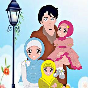 Mirzan Blog S 35 Trend Terbaru Gambar Kartun Ayah Ibu Dan 2 Anak Perempuan