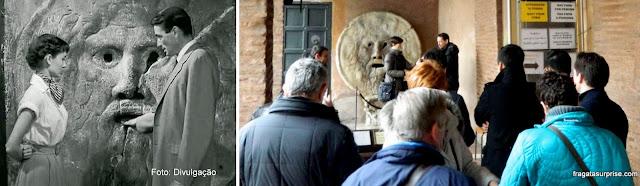 Viagens inspiradas em filmes - Roma: a Boca da Verdade, Igreja de Santa Maria in Cosmedin (A Princesa e o Plebeu)