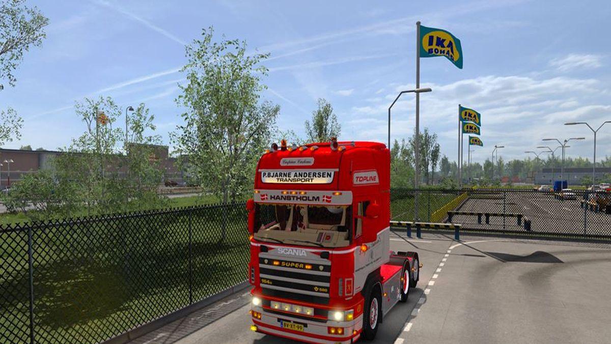 P.Bjarne Andersen Scania 164G 580