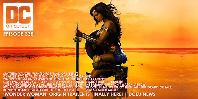 Wonder Woman takes a knee as we take the time to talk more about the final trailer for the upcoming DC film