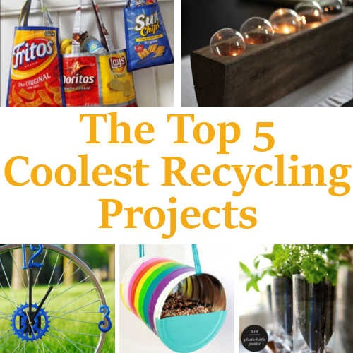 Diy Home Sweet Home Top 5 Coolest Recycling Projects